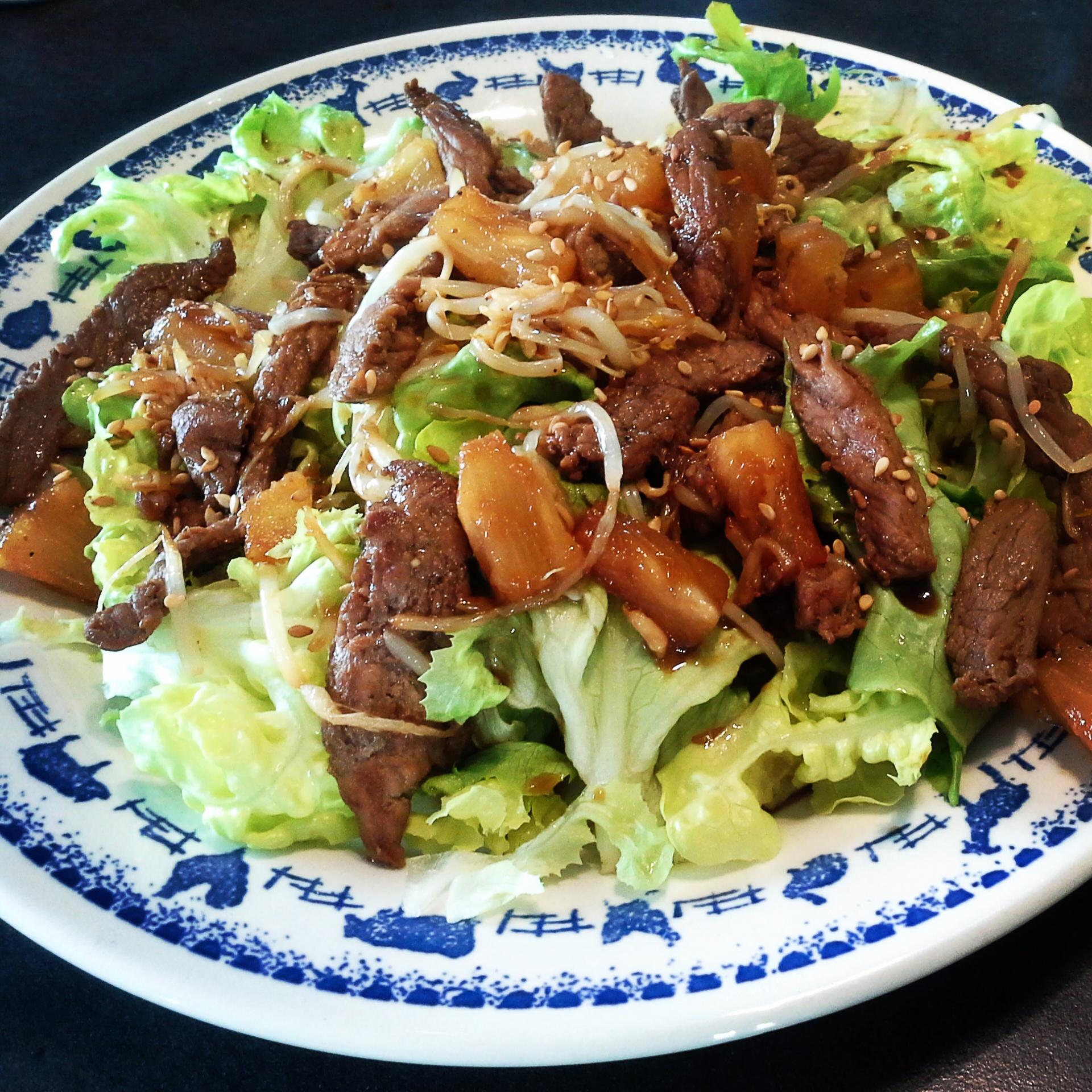 la cuisine de mamandine 187 salade saut 233 de boeuf 224 la chinoise